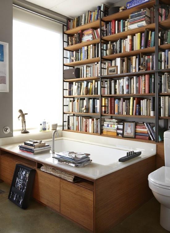 Desejo do Dia: banheira no escritório. Blog Achados de Decoração