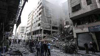 تواصل الغارات الجوية على قطاع غزة لليوم الثاني ..وارتفاع عدد الشهداء