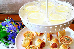 Mini High Tea Set : Honey Theme