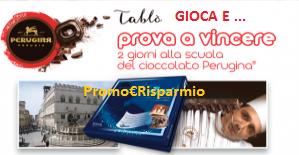 Logo Vinci Cofanetti '' 2 giorni di Baci'' con Perugina Tablò