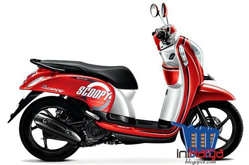 Harga Motor Honda Scoopy Fi Stylish Terbaru