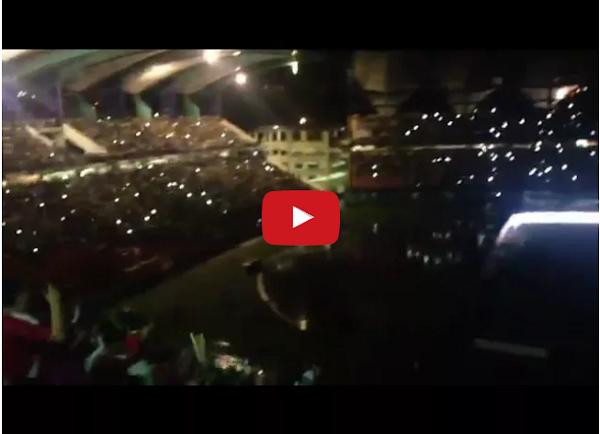 Se fue la luz en medio del partido Venezuela-Brasil