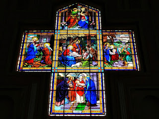 Vitral - Igreja São João Batista, São João do Polêsine (RS)