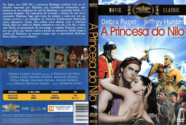 Capa DVD A Princesa do Nilo