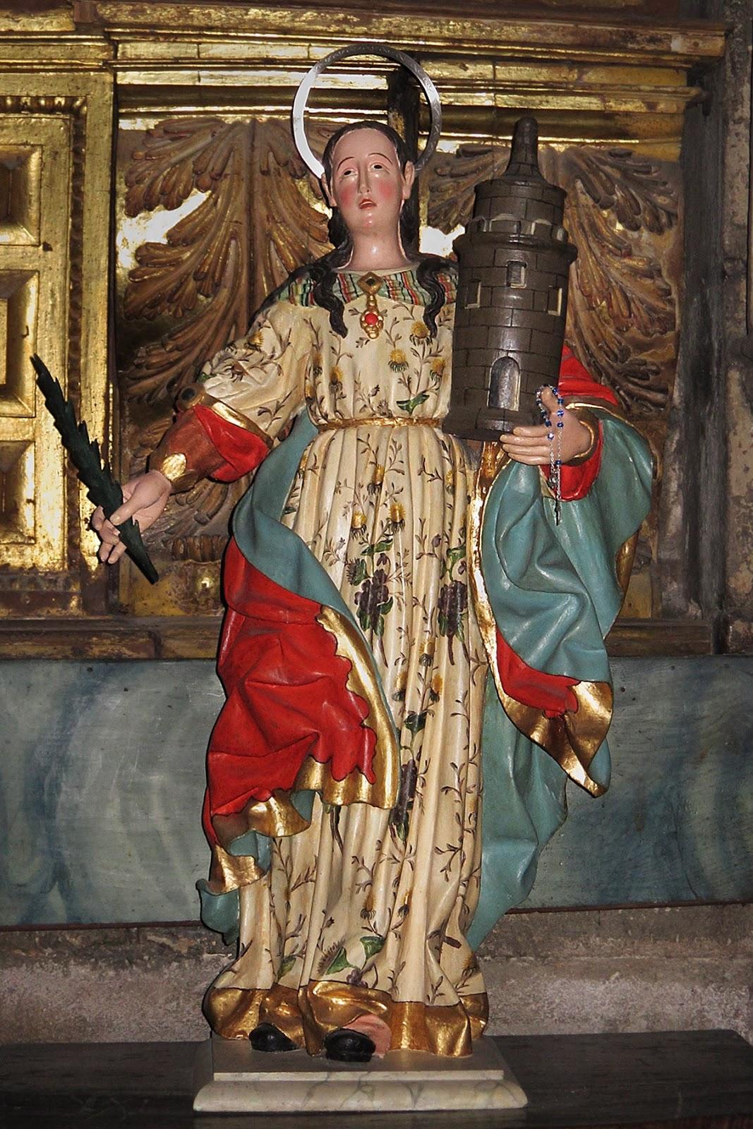 Santa Bárbara de la catedral de Orense