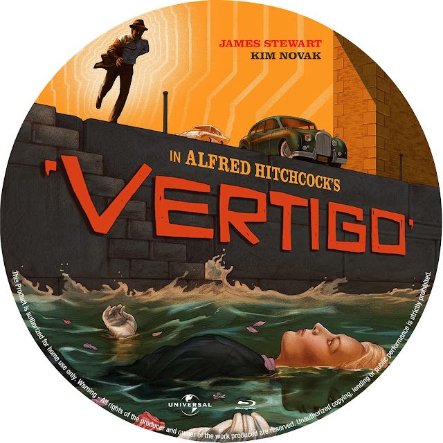 Vertigo Bluray Label