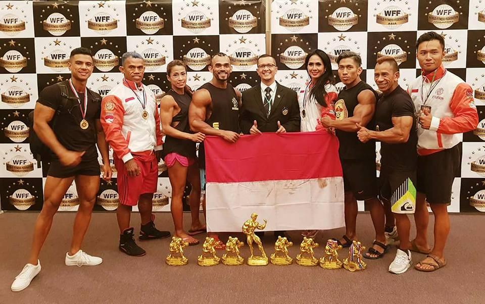 5 Atlet PERBAFI Berhasil Ambil Pro Card di WFF Asia Pasific Pro/AM Championship 2017