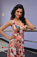 Actress Richa Panai Pos in Sleeveless Floral Long Dress at Rakshaka Batudu Movie Pre Release Function  0086.JPG