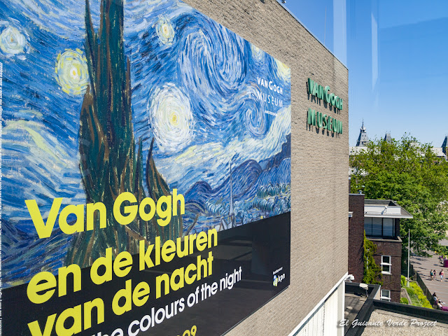 Los Colores de la Noche, Van Gogh Museum - Amsterdam por El Guisante Verde Project