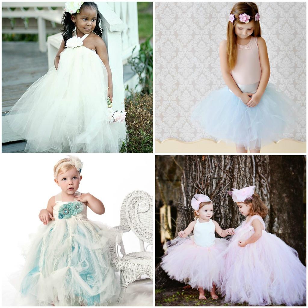Flower Girl Gowns: Weddings- The Joys And Jitters: Sweet Flower Girl Tutu Dresses