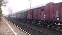 Ty42-24 z pociągiem specjalnym we Wrocławiu
