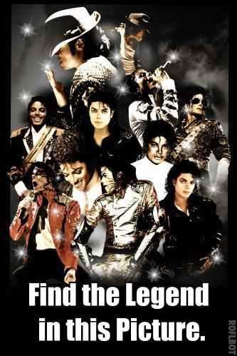 MJ Find the Legend Meme