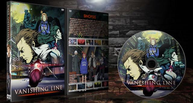 Garo: Vanishing Line | Cover DVD |