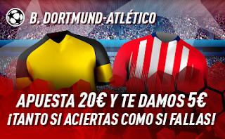 sportium Promo Dortmund vs Atletico 24 octubre