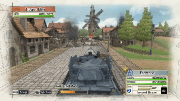 Valkyria Chronicles PC Free Download Screenshot 1