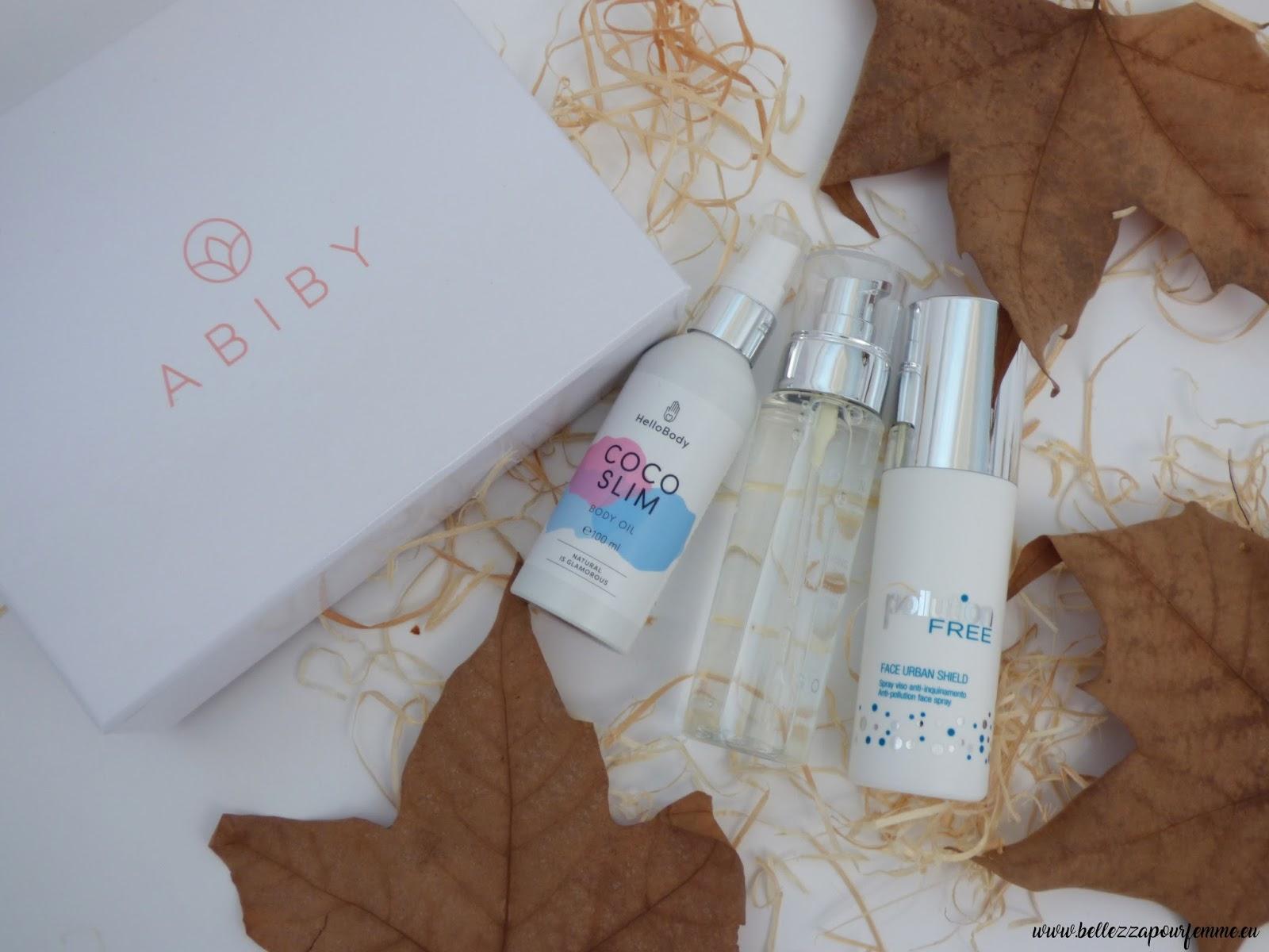 contenuto box Abiby di Marzo 2018