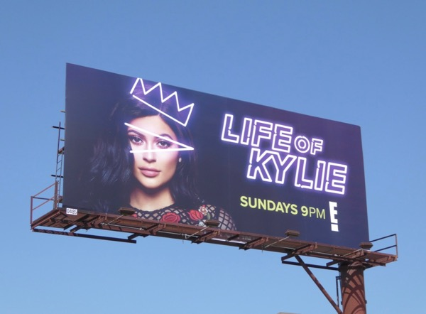 Life of Kylie series premiere billboard