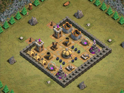 Goblin Base Clash of Clans Red Carpet