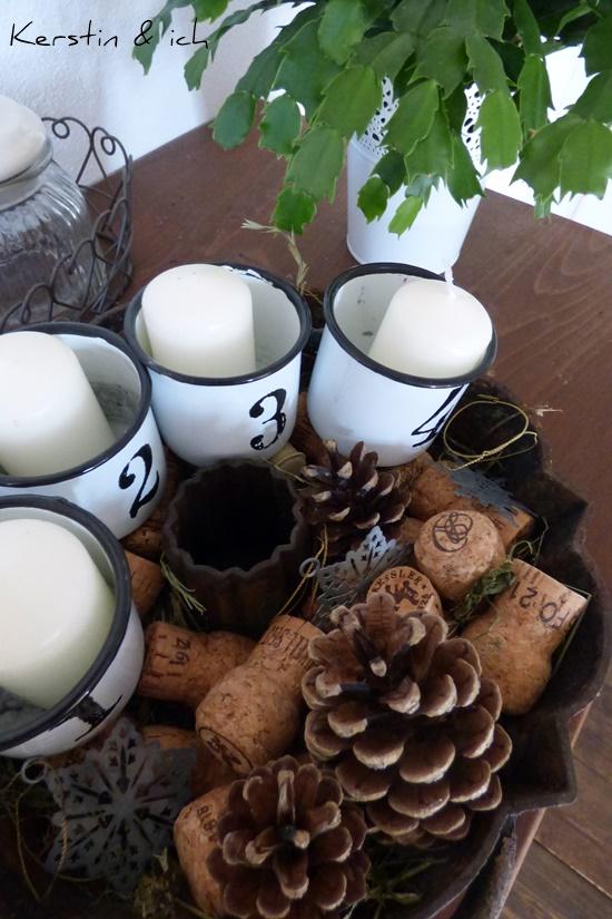 Weihnachten Deko Selbermachen Kranz