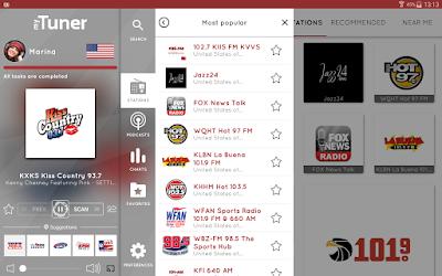تطبيق MyTuner Radio مهكر للأندرويد, تطبيق MyTuner Radio كامل للأندرويد