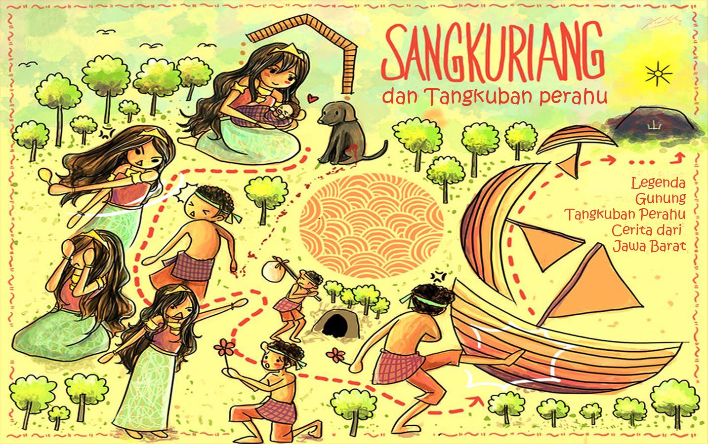 Sangkuriang Dan Tangkuban Perahu Cerita Anak Indo