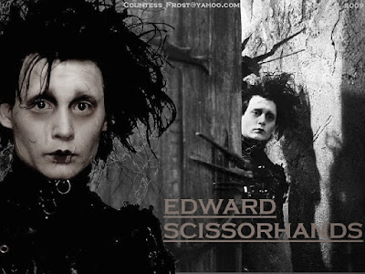 johnny depp, edward scissorshands, makas eller