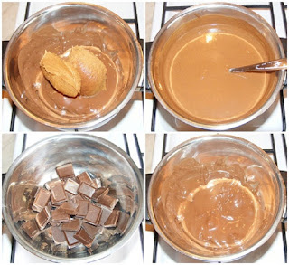crema ciocolata, retete creme prajituri si torturi de casa, crema cu unt de arahide, crema, creme,