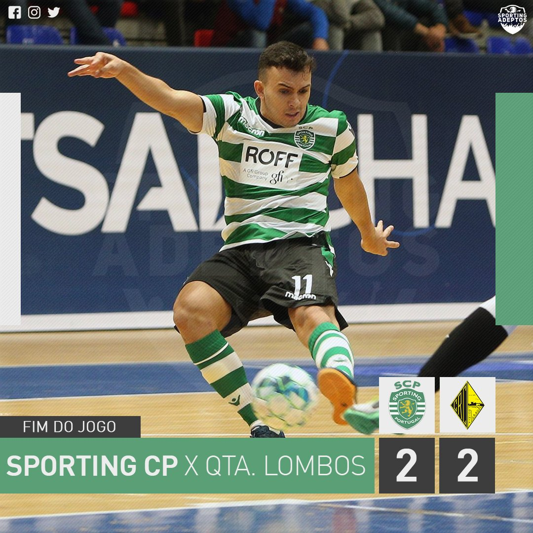 6d5cbef691 O Sporting recebeu o Quinta dos Lombos em jogo a contar para a 5ª jornada  da. Liga SportZone e consentiu de forma surpreendente uma igualdade a dois  golos
