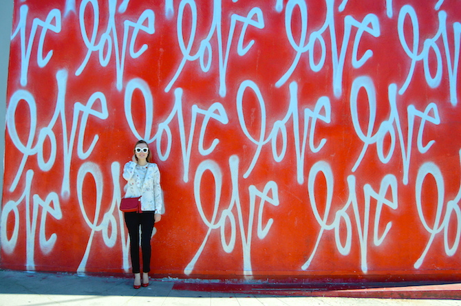 Hello Katie Girl Spreading The Love One Wall At A Time