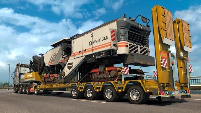 Euro Truck Simulator 2 ganha pacote de cargas super pesadas
