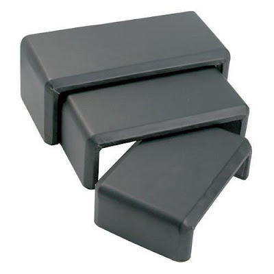 Buy Wholesale Leatherette Rectangular Risers Display Sets at Nile Corp