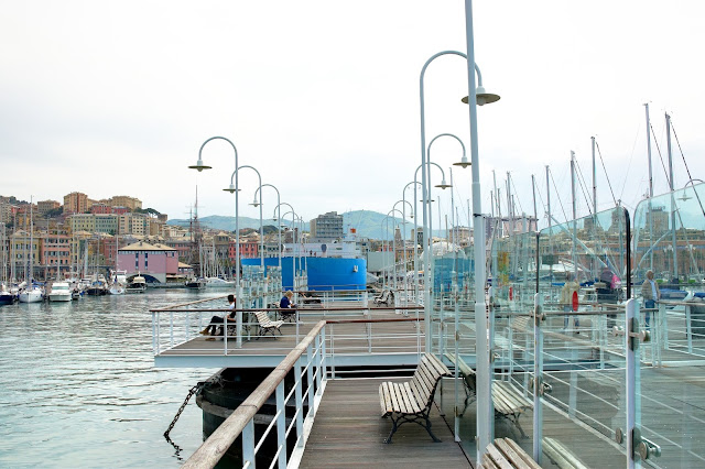 molo w Genui