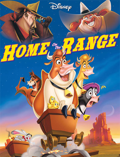 Ver Vacas vaqueras (Home on the Range) (2004) Online