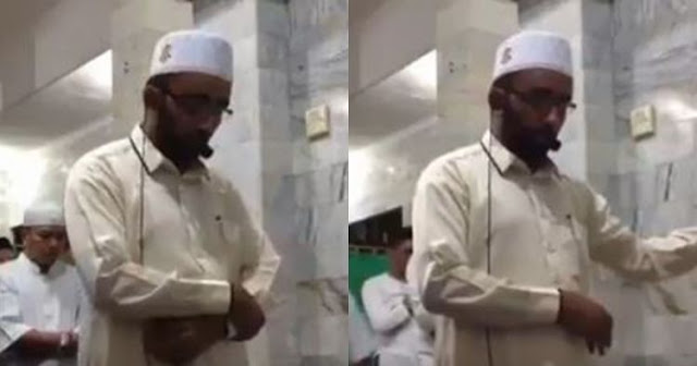 Videonya Viral, Imam Sholat Saat Gempa Lombok Tak Ingin Terkenal. Alasannya Bikin Hati Gemetar