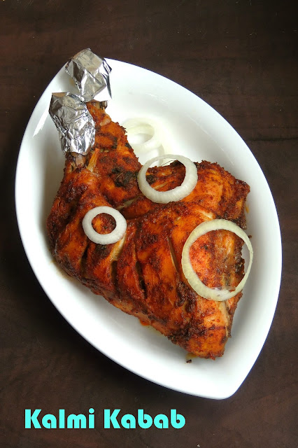 Kalmi Kebab, Chicken Kebab
