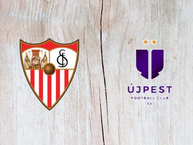 Sevilla vs Újpest - Highlights - 26 July 2018