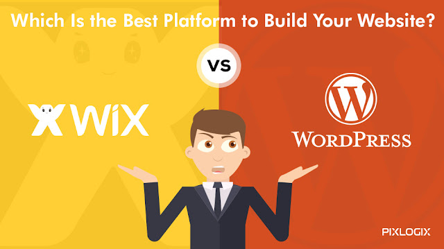 Wix vs Wordpress Which is best platform to build website