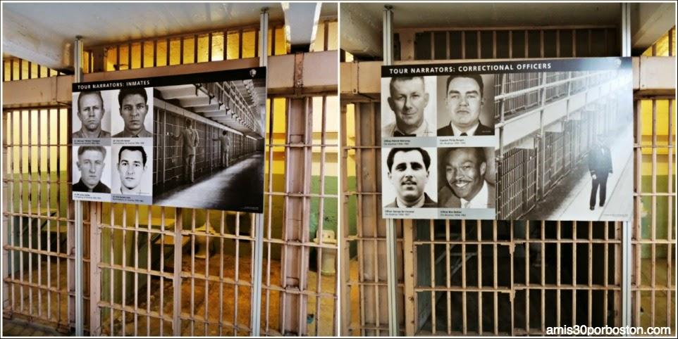 La Prisión de Alcatraz: Celdas