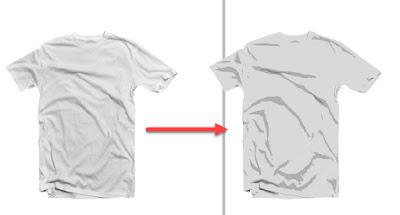 Cara Membuat Mockup Tshirt Dengan Corel Draw pisahkan gambar dan vector