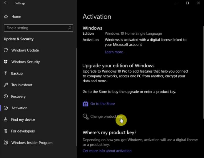 Cara Mengganti Product Key Windows 10