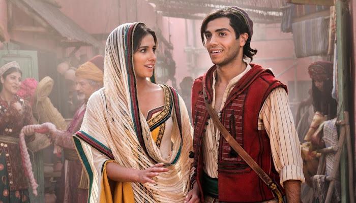 """""""Alladin"""": novo trailer tem cenas com Gênio e encontro com Jasmine"""