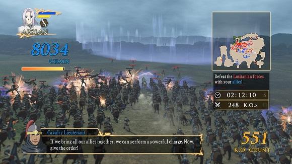 Arslan The Warriors of Legend PC Free Download Screenshot 1