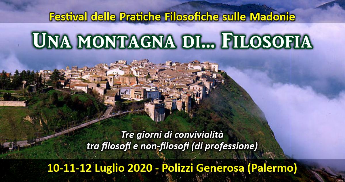 Filosofia per la vita: Festival delle Pratiche Filosofiche - Parco delle Madonie - Luglio 2020