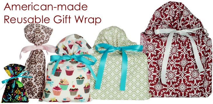 VZ Wraps makes Reusable Gift Wrap that is eco-friendly, ultra-easy, American-made, and fun for any occasion.
