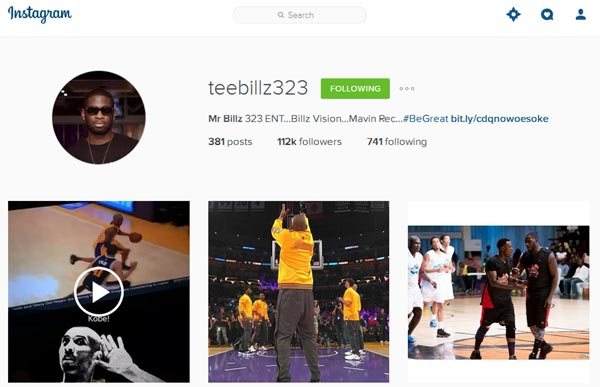TeeBillz Has Removed All Tiwa Savage Rants From His Page, Goes Silent