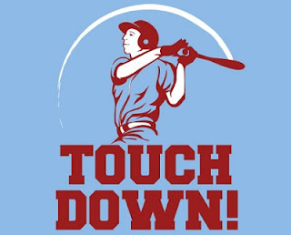 Arti dari kata touchdown