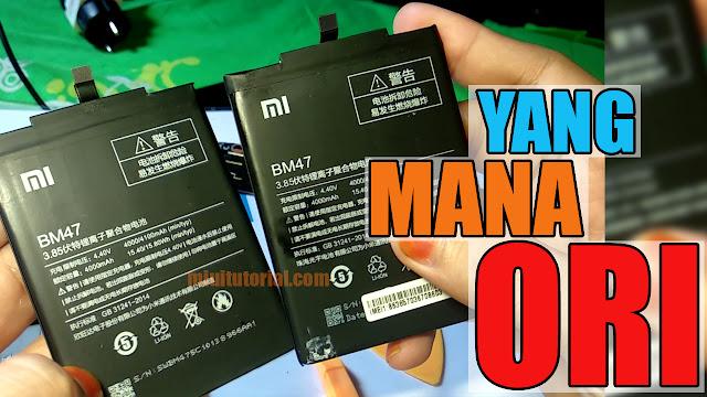 4 Ciri Penting Cara Membedakan Baterai Original Xiaomi dengan yang KW Mi Fans Wajib Tahu!