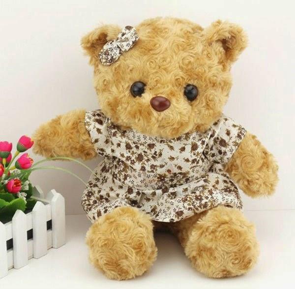 Gambar boneka teddy bear lucu dan manis