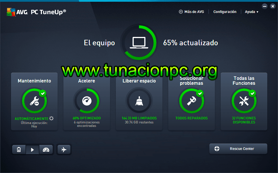 AVG Tuneup Utilities Final Gratis Español