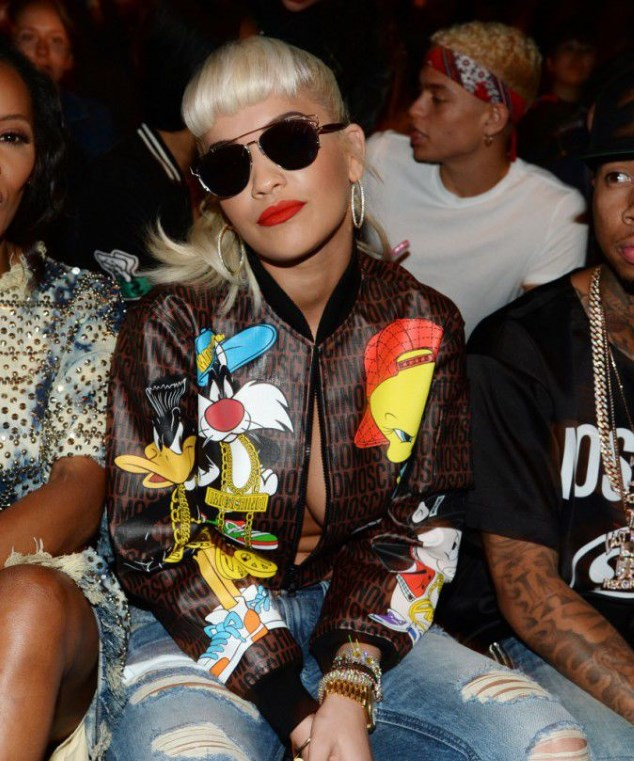 The singer Rita Ora Monday the fashion show Jeremy Scott in New York...